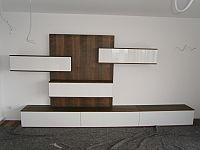 obývací stěna na zakázku
