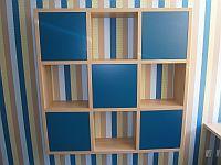 Originální knihovna do dětského pokoje