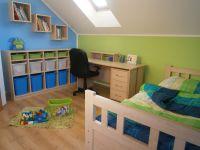 Dětský pokoj pro školáka, dětský pokoj pro kluka